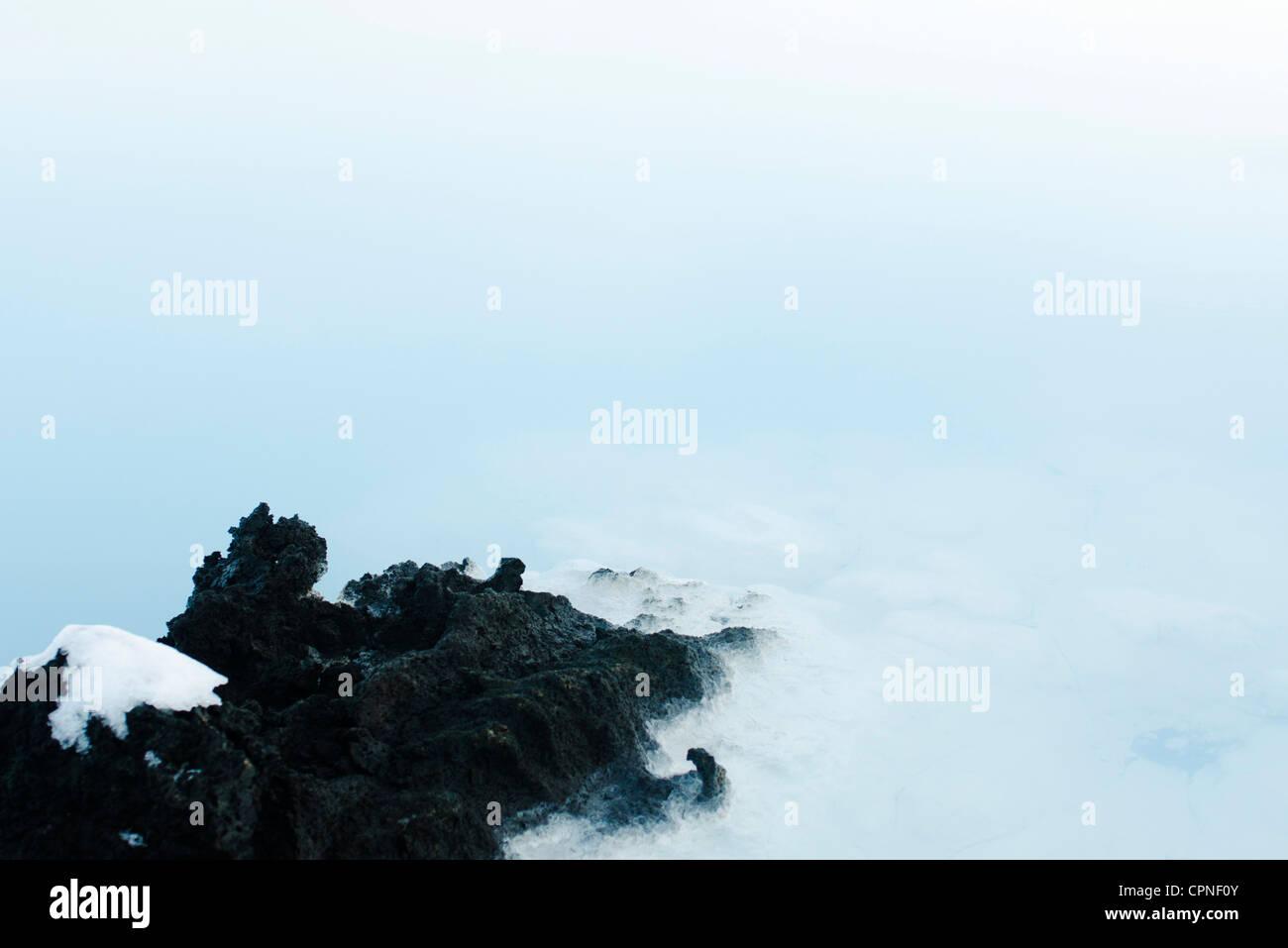 Blue Lagoon, Reykjanes Peninsula, Iceland - Stock Image