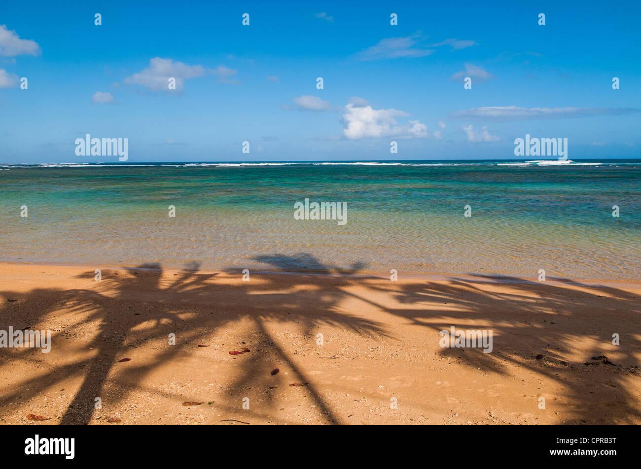 Anini Beach, Kauai, Hawaii - Stock Image
