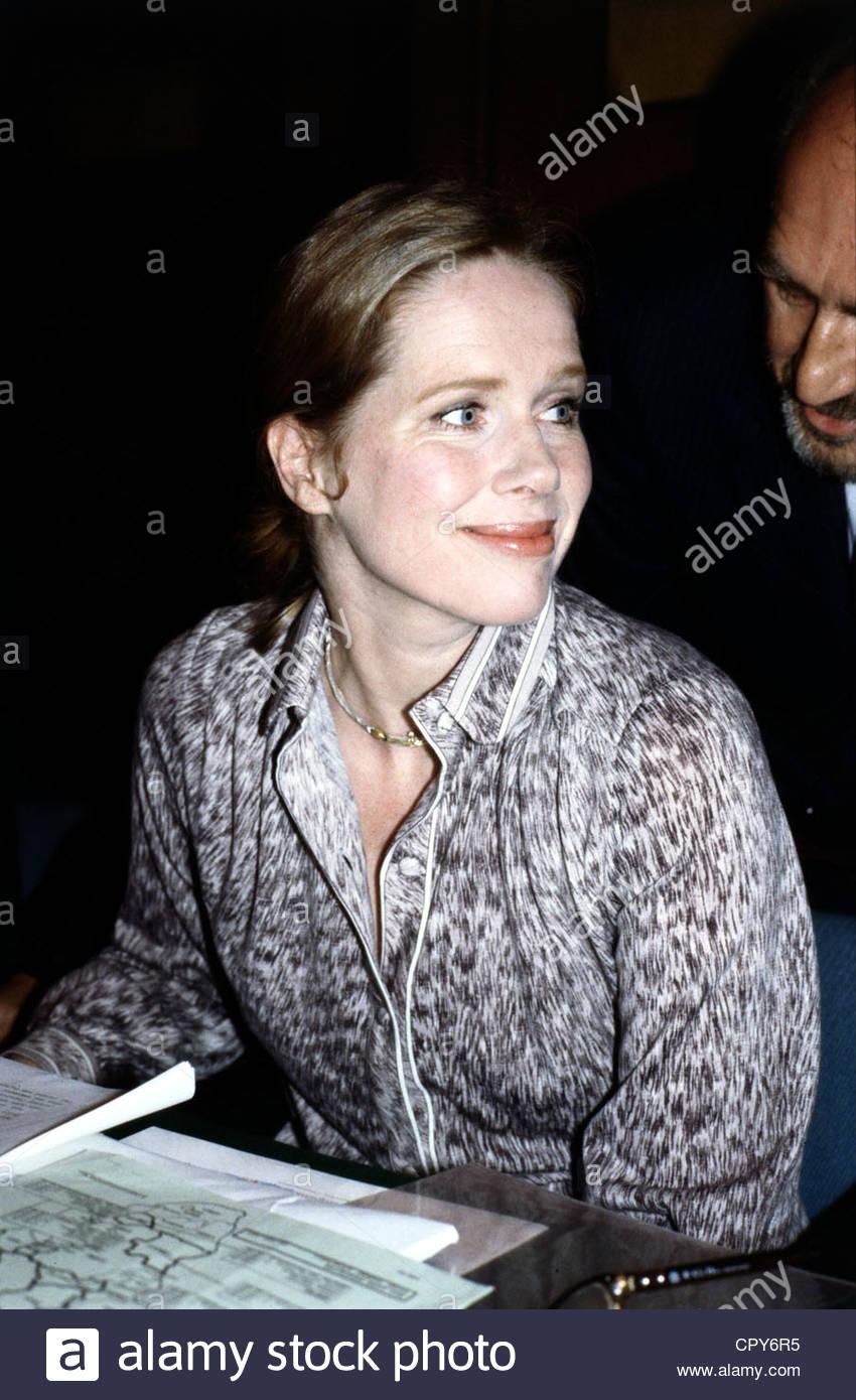 Ullmann, Liv, * 16.12.1939, Norwegian actress, portrait, 1980s, - Stock Image
