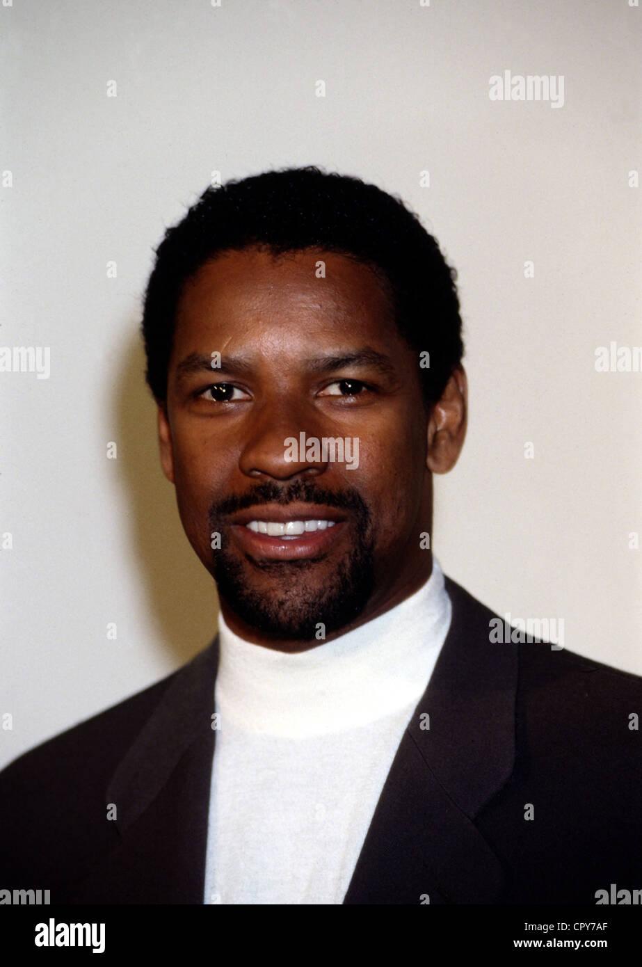 Washington, Denzel, * 28.12.1954, US actor, portrait, 1998, beard, - Stock Image
