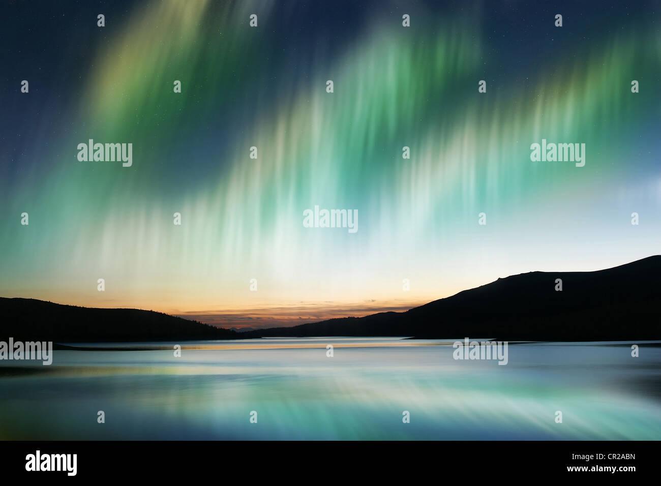 Aurora Borealis - Stock Image