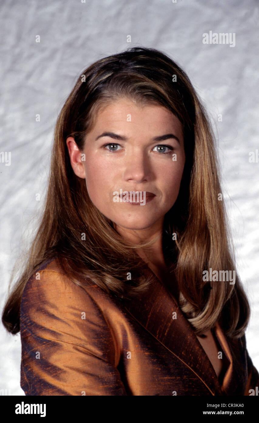 Engelke, Anke, * 21.12.1965, German comedian, actress, portrait, 1998, - Stock Image