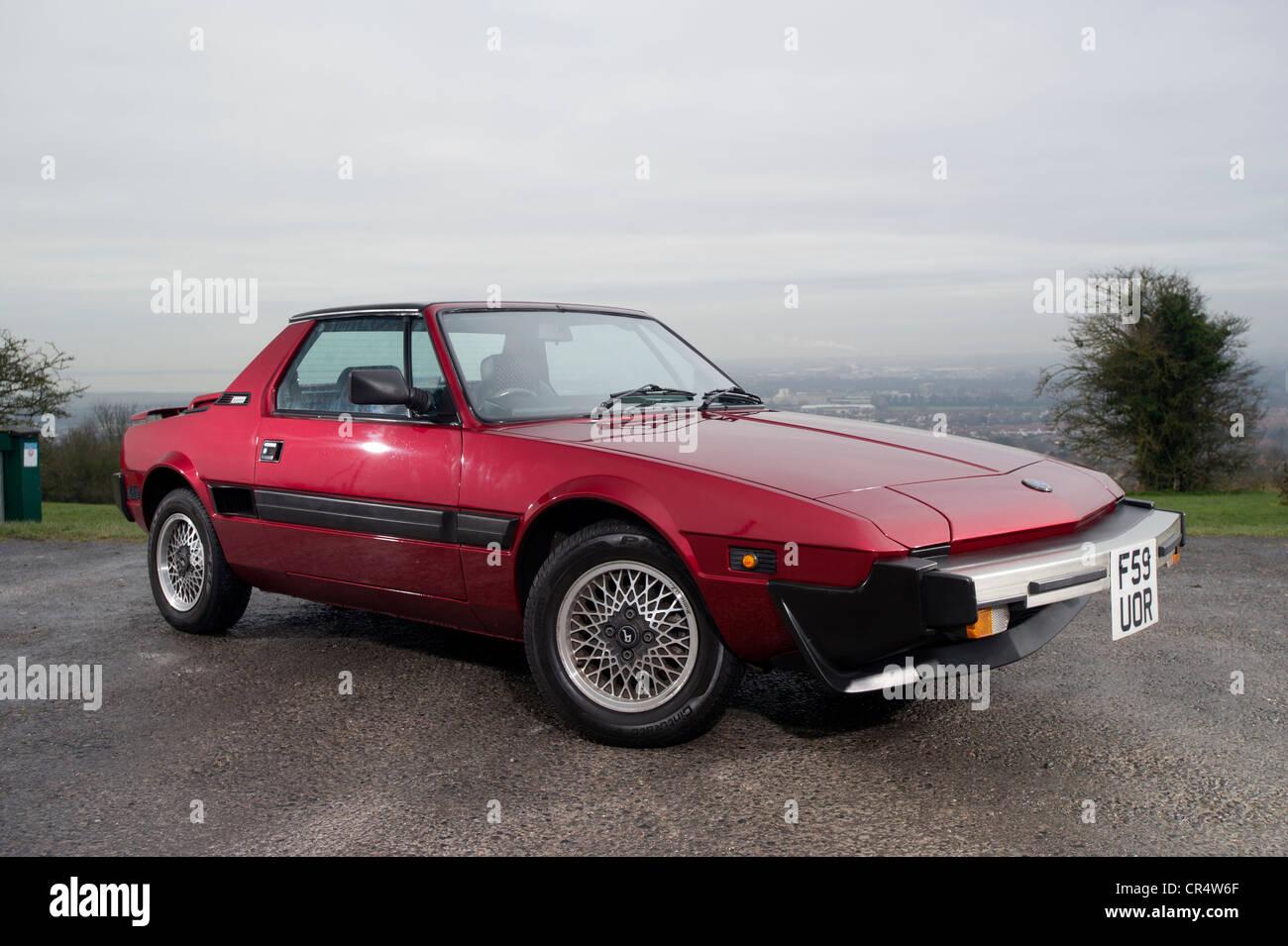 Fiat X1 9 Classic Italian Sports Car Mid Engine Eighties Bertone