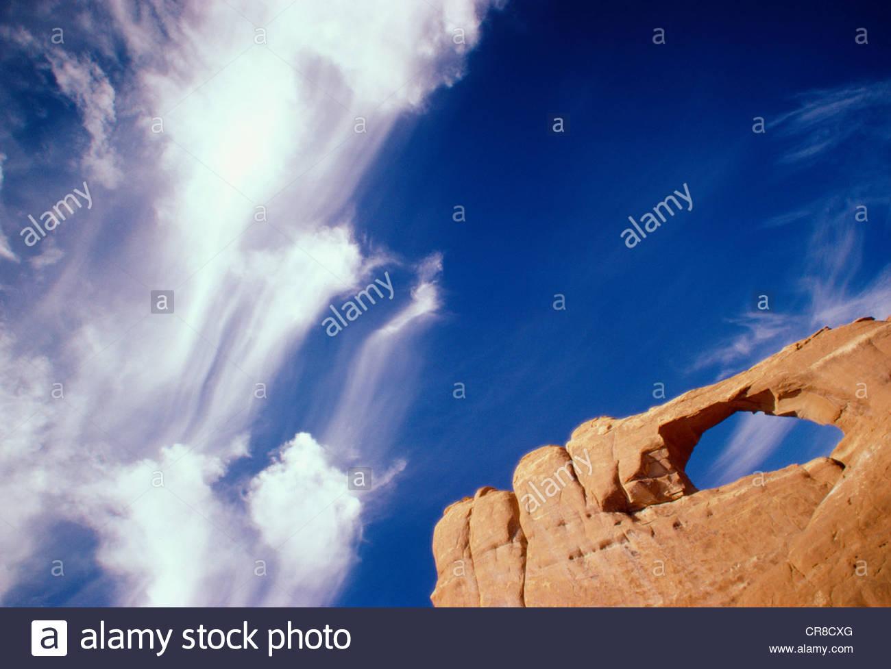 Arches National Park, Utah - Stock Image