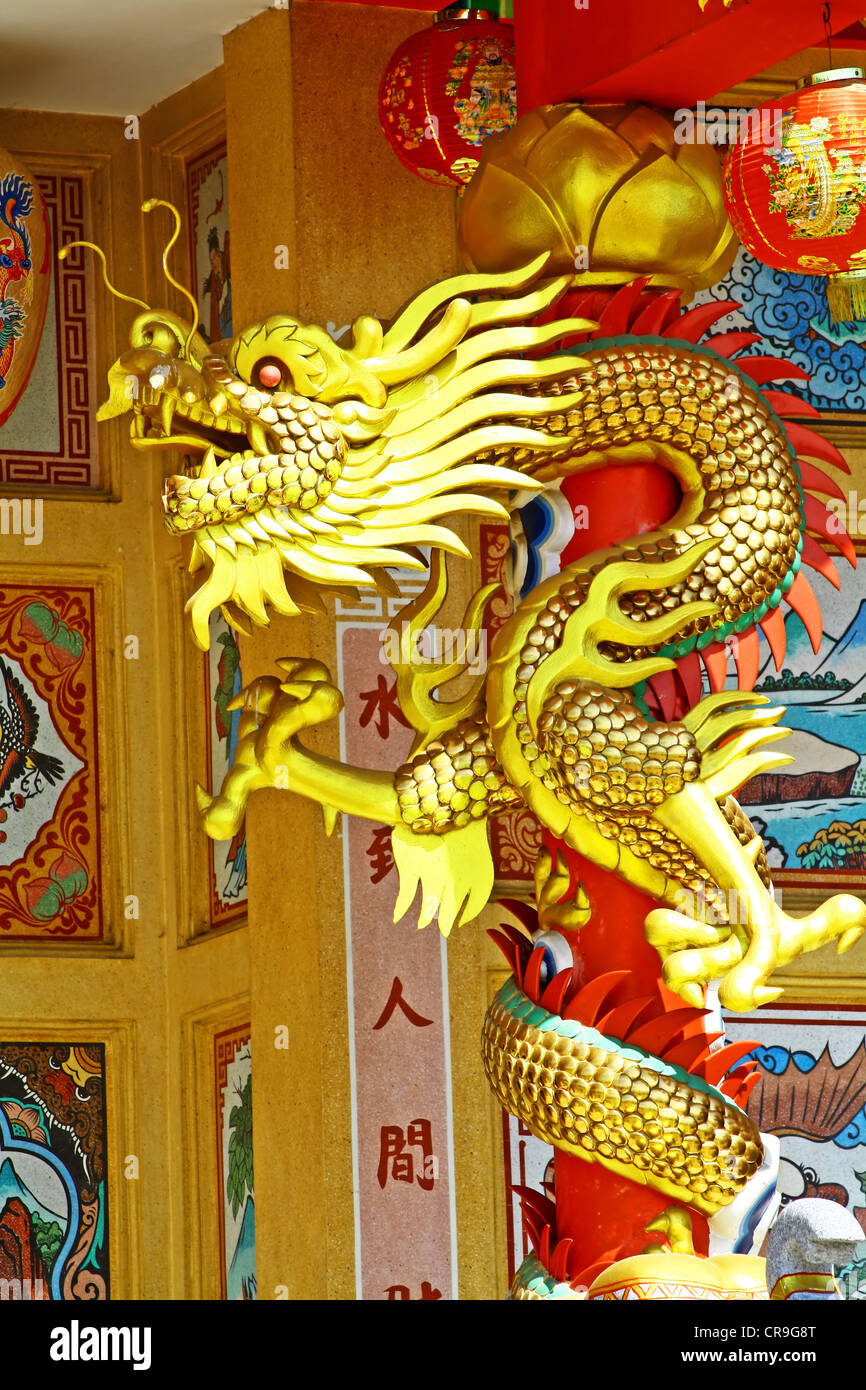 Chinese dragon - Stock Image