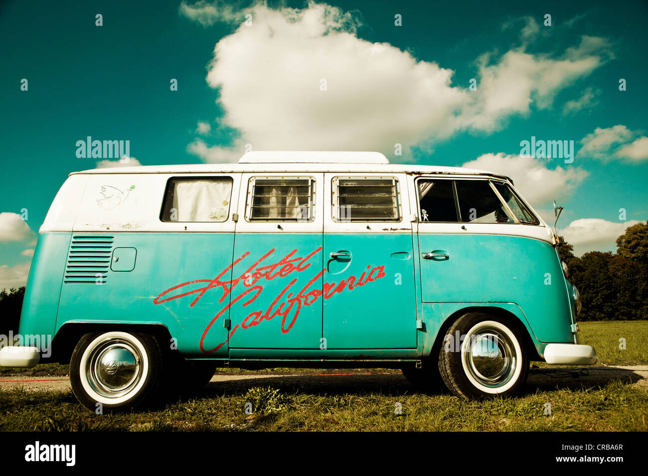 Vw camper van hippie bus t1 1960s original turqouise and white vw camper van hippie bus t1 1960s original turqouise and white colour white wall tyres elevating roof and inscription thecheapjerseys Choice Image