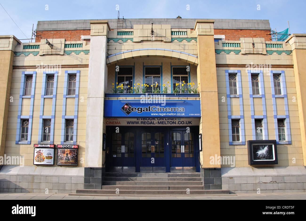 Regal Cinema, King Street, Melton Mowbray, Leicestershire, England, UK - Stock Image