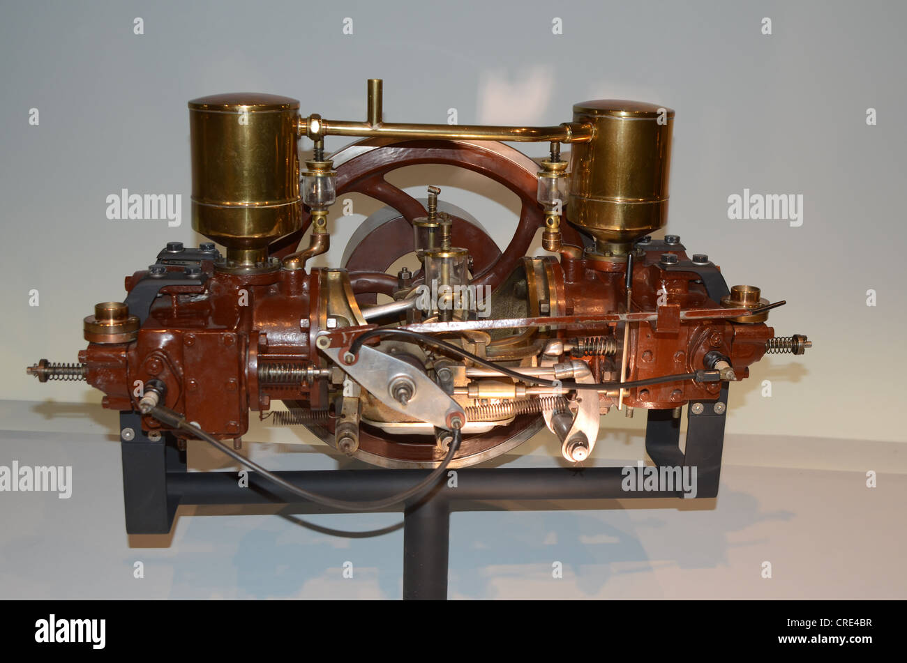 Picture of the first car with combustion engine in the world as ...