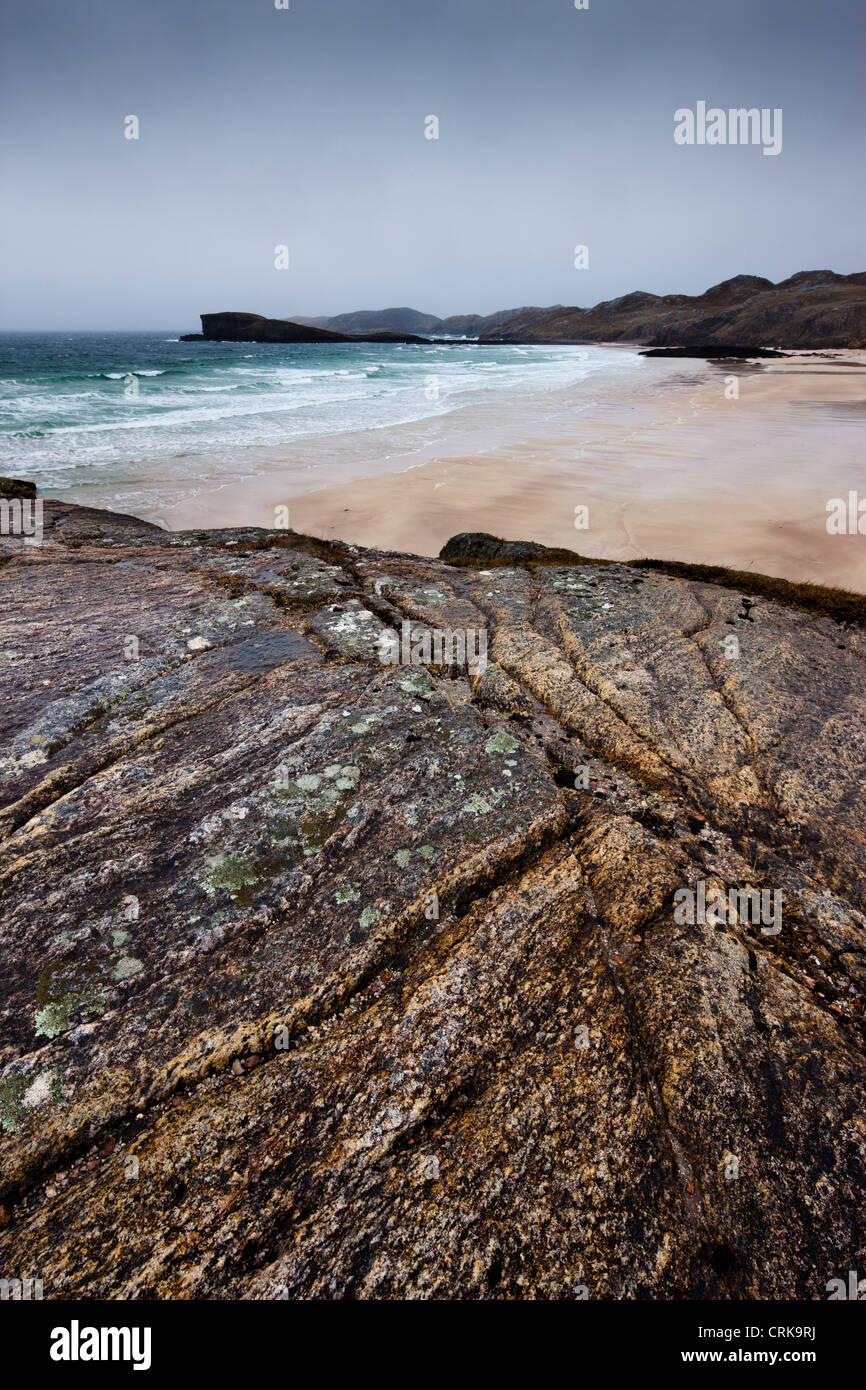 Oldshoremore Beach, Sutherland, Scotland - Stock Image