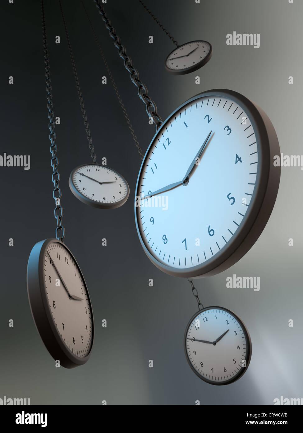 Time metaphor - Stock Image