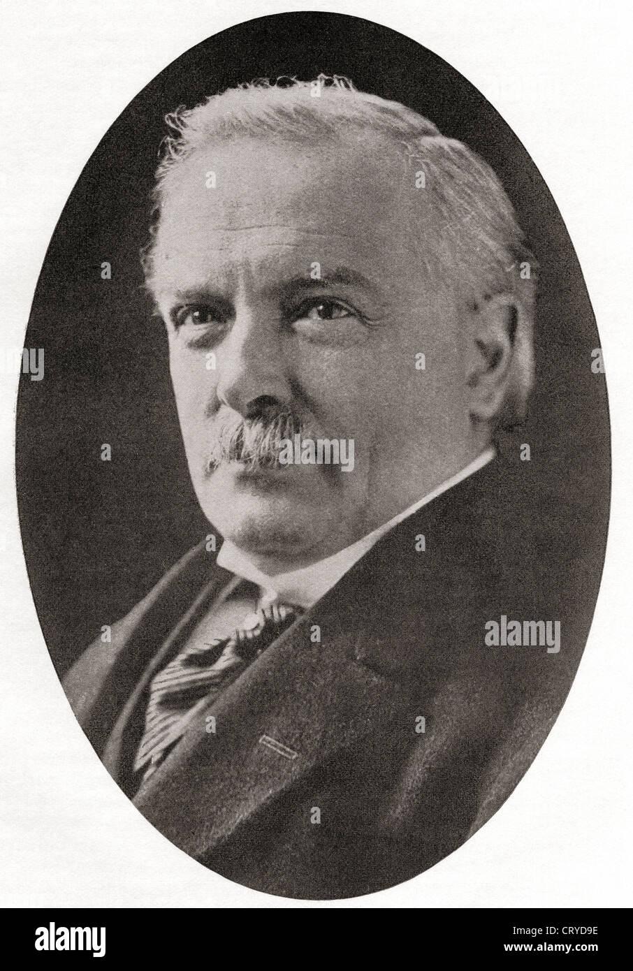 David Lloyd George, 1st Earl Lloyd-George of Dwyfor , 1863– 1945. - Stock Image