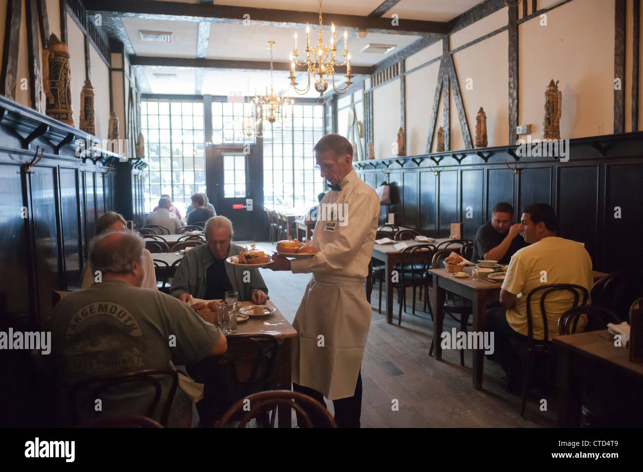 Peter Luger Steak House in Williamsburg, Brooklyn in New York Stock Photo