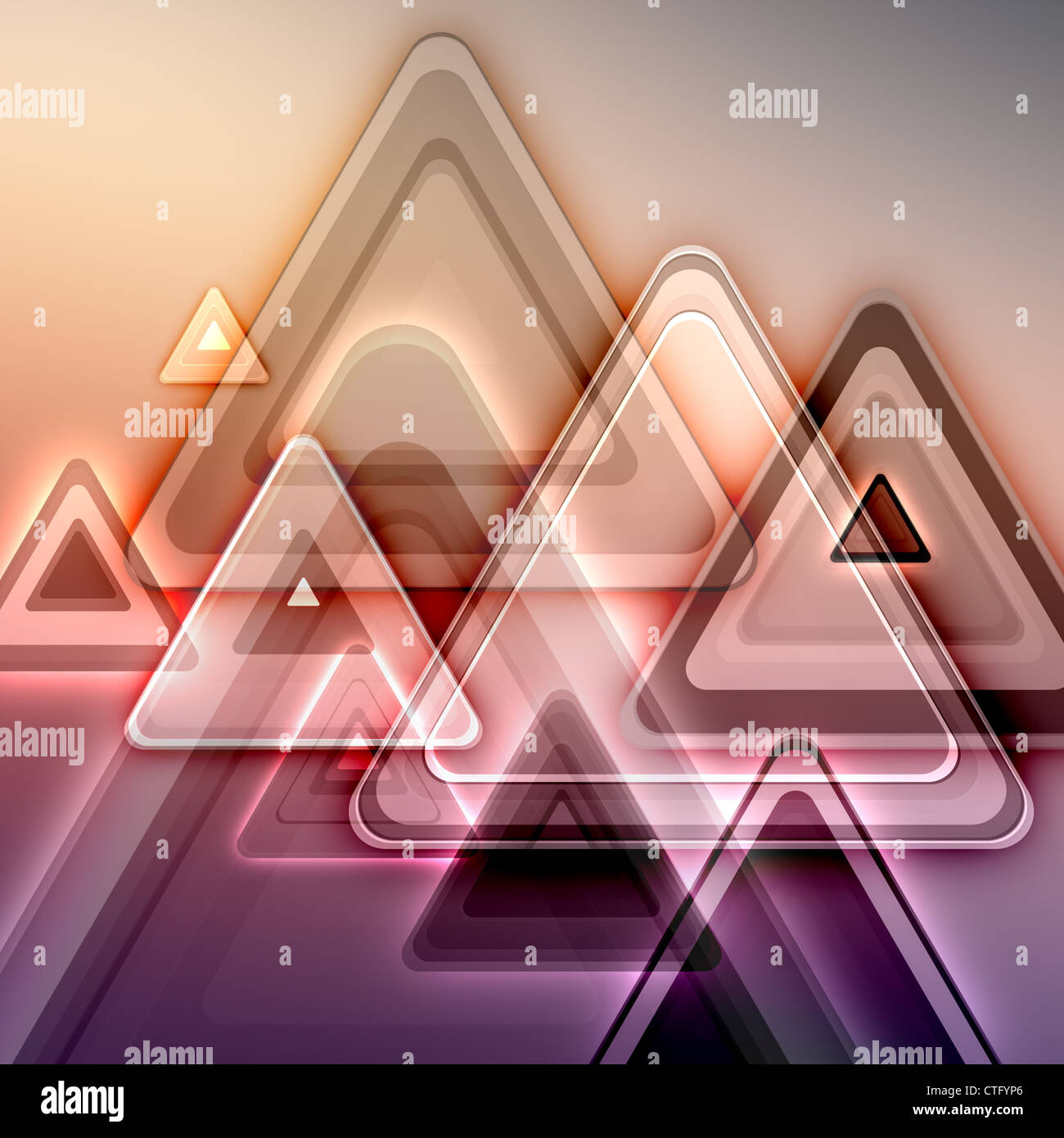 abstract futuristic background - Stock Image