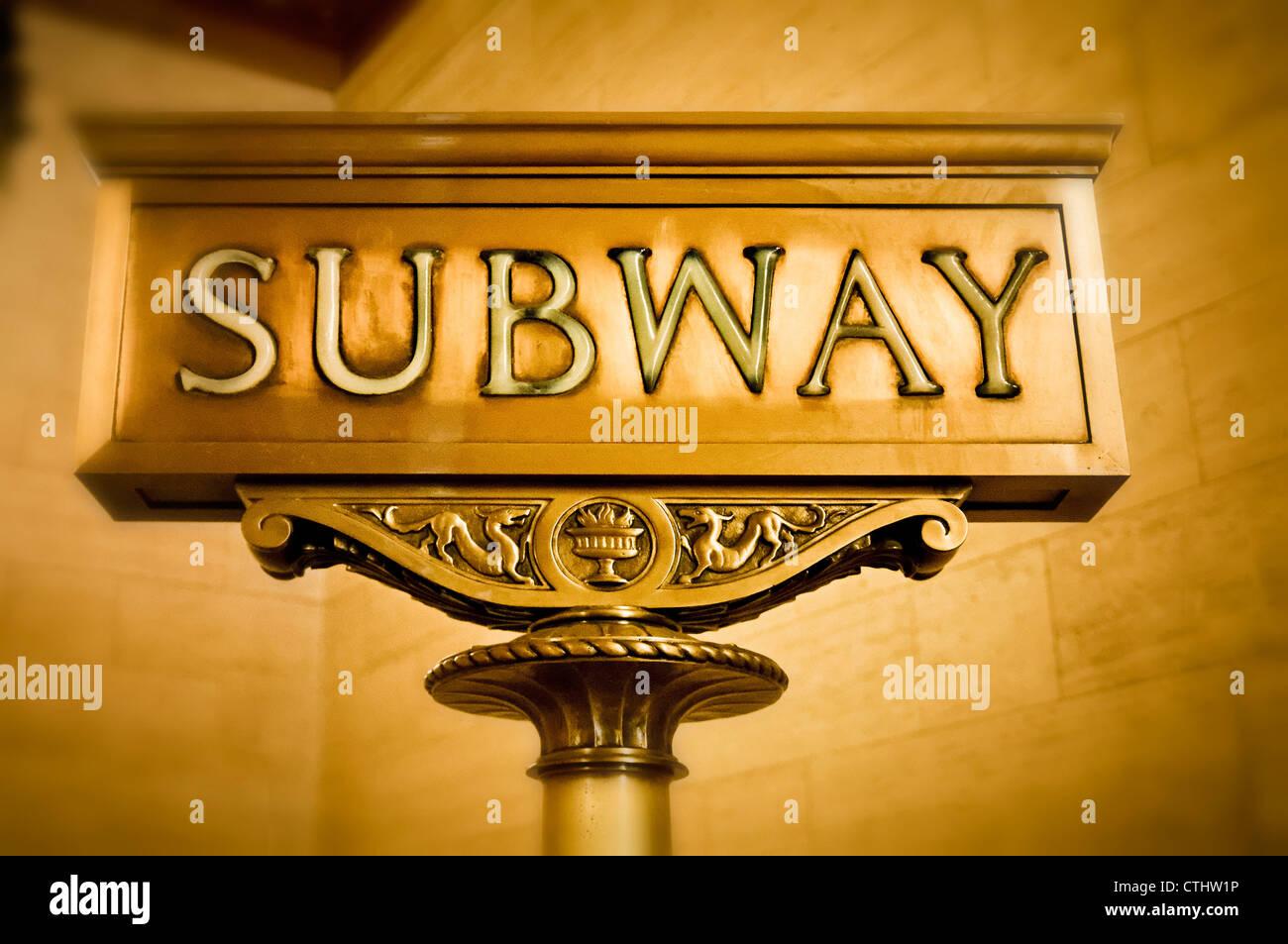 New York Subway Sign Stock Photos & New York Subway Sign Stock ...