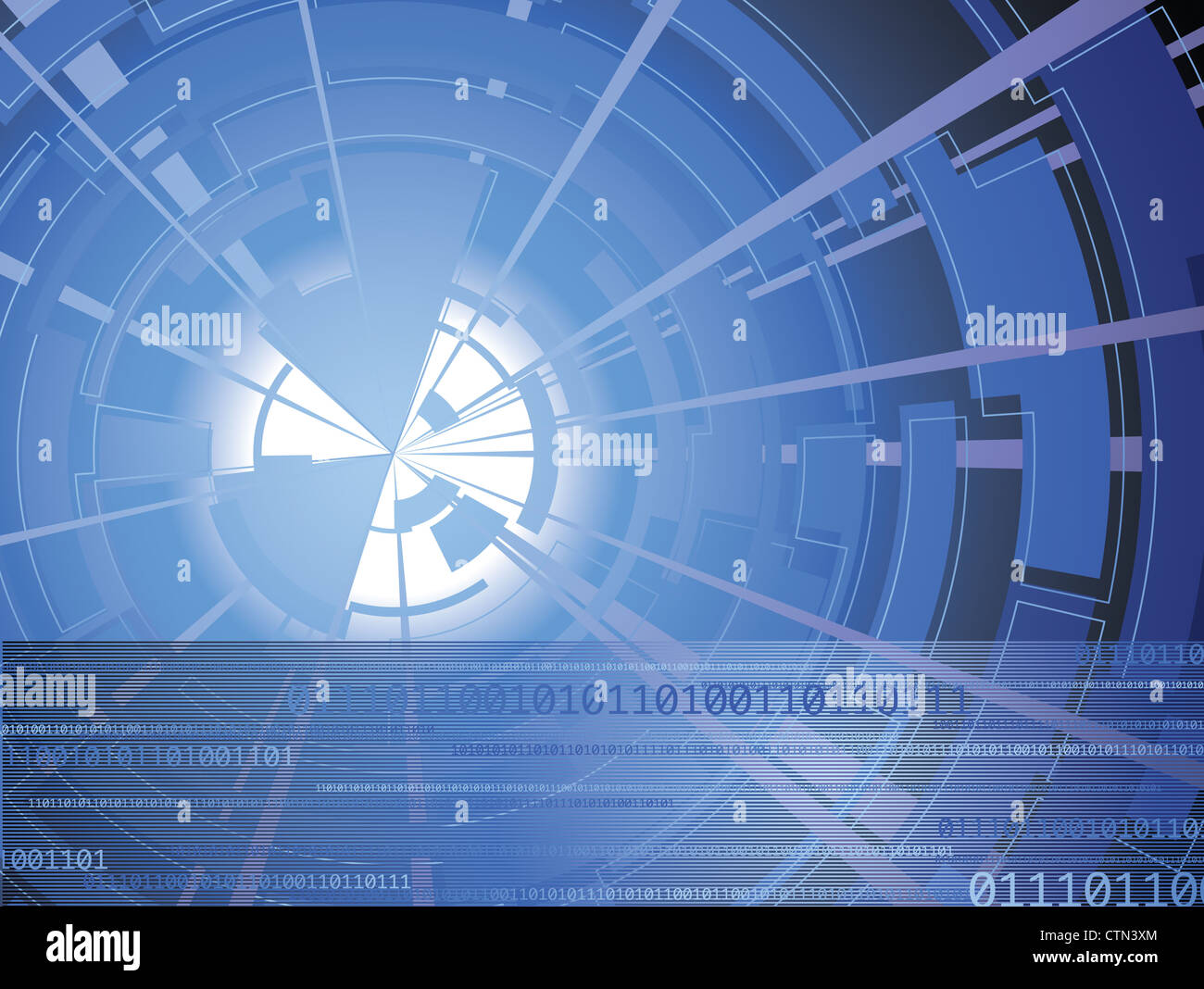 Technology background - Stock Image