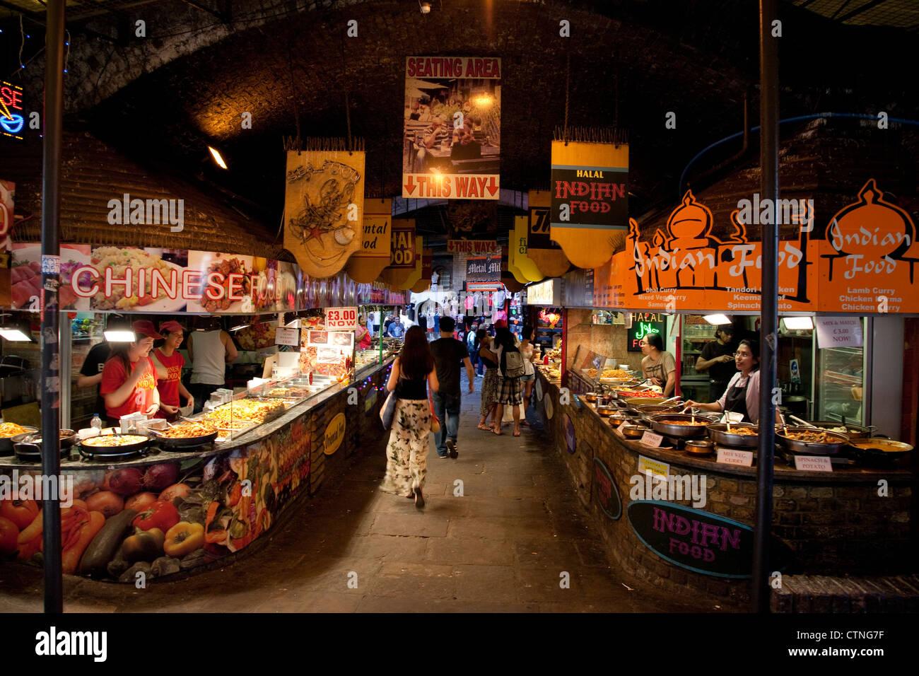 London Outdoor Food Markets