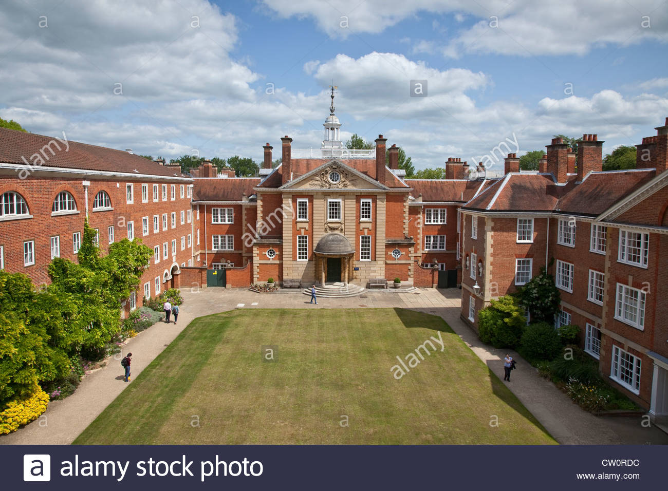 Lady Margaret Hall Oxford Stock Photo