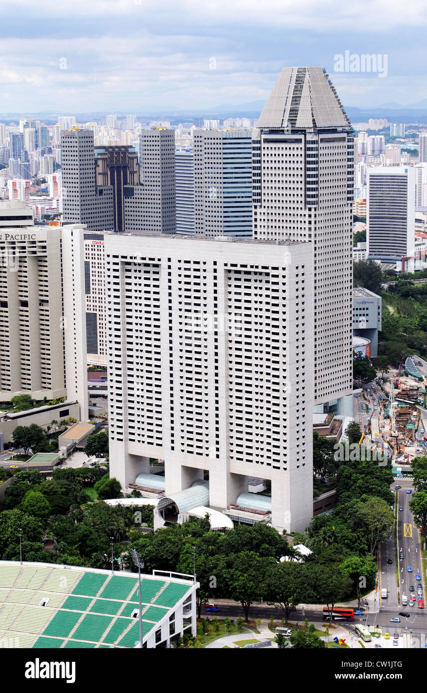 Singapore is a modern, clean capital in South-east-asia - Stock Image