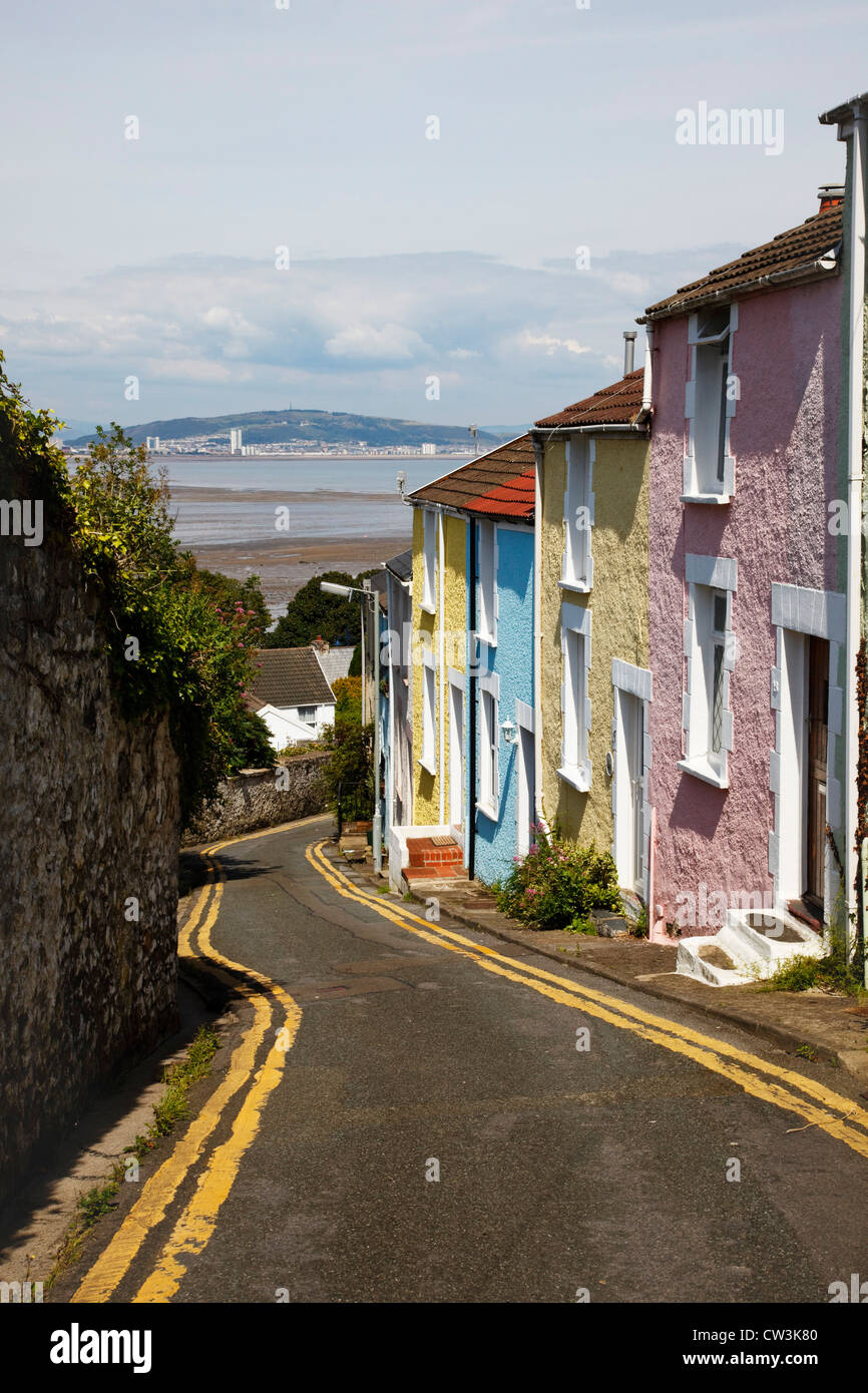 colourful-houses-above-the-mumbles-swans