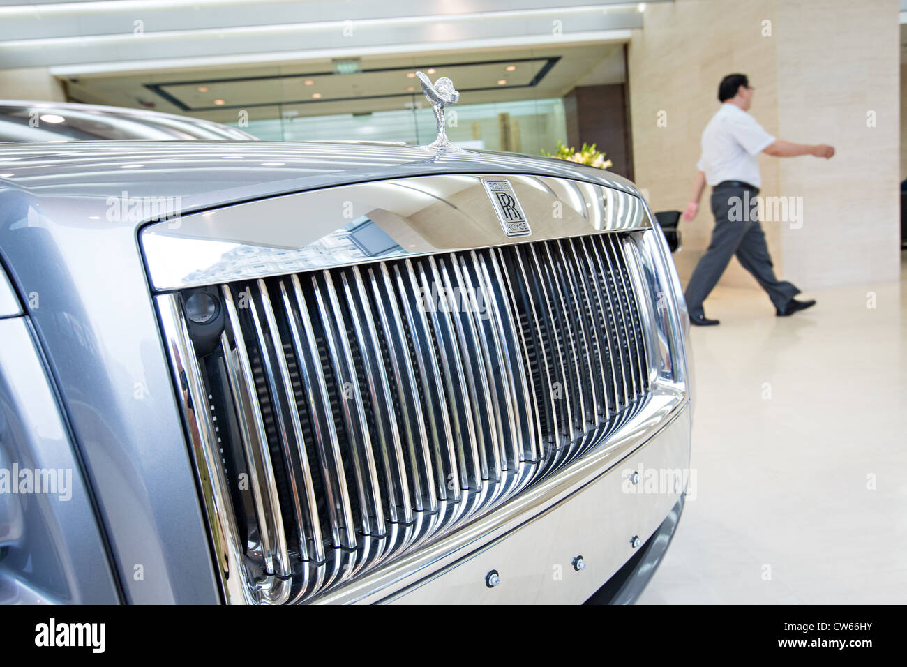Rolls Royce Showroom Stock Photos Amp Rolls Royce Showroom Stock Images Alamy