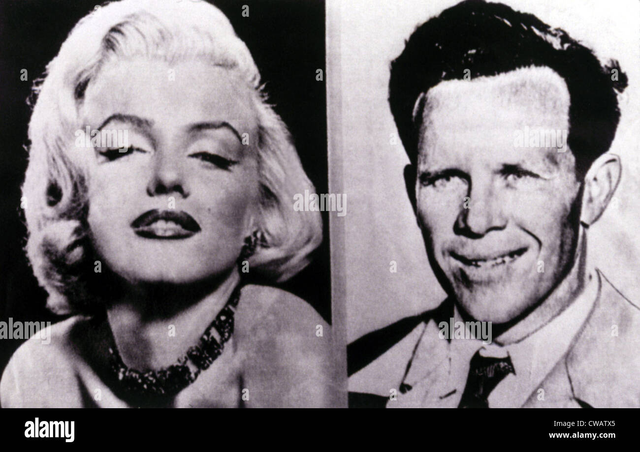 Marilyn Monroe, James Dougherty, her first husband. Courtesy: CSU Archives / Everett Collection - Stock Image