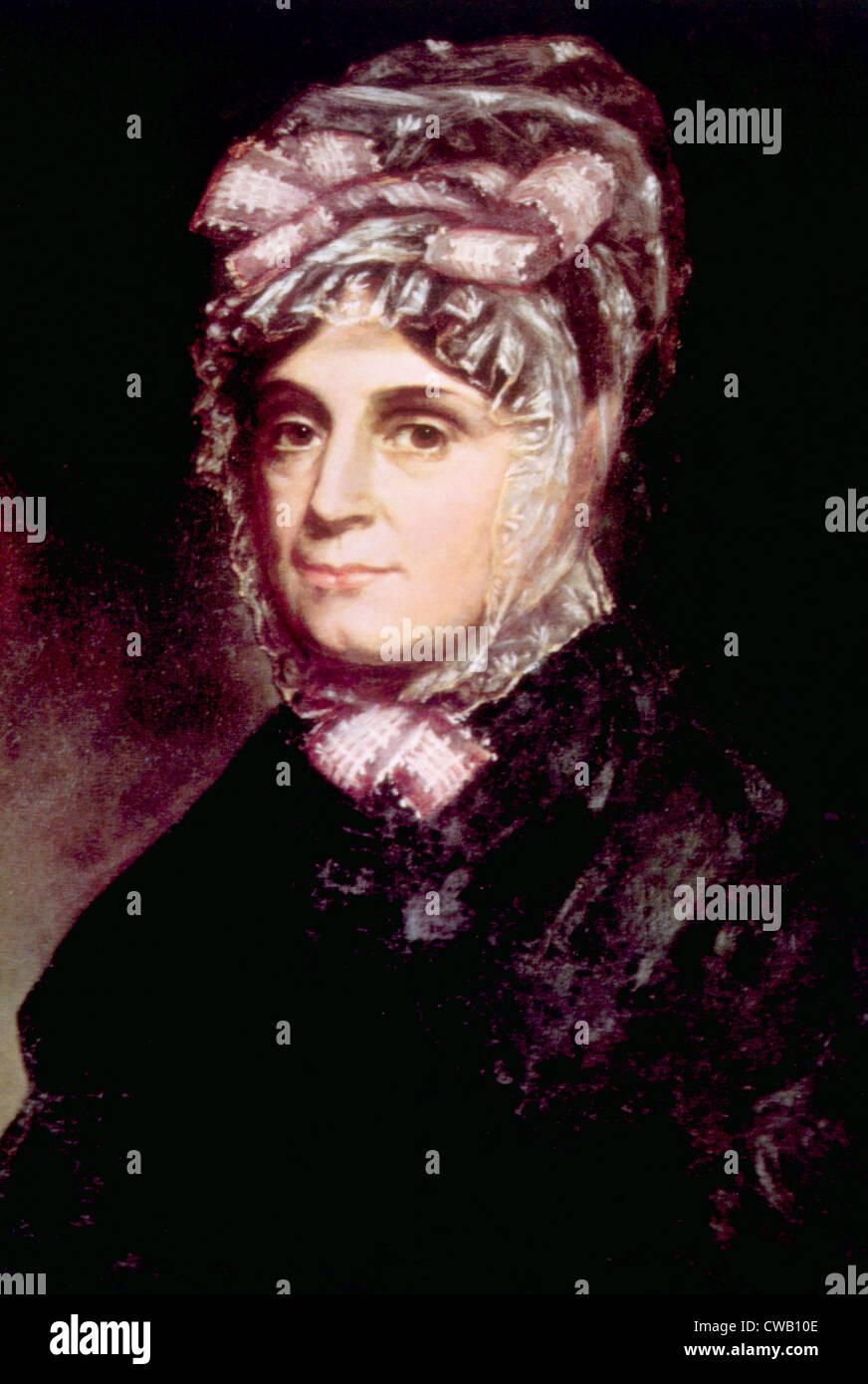 Anna Harrison (1775-1864), First Lady 1841, portrait by Cornelia Stuart Cassady, 1843 - Stock Image