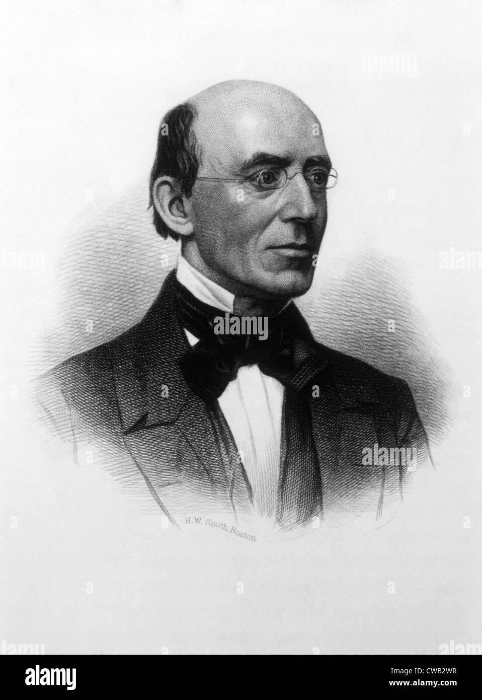 William Lloyd Garrison (1805-1879) - Stock Image