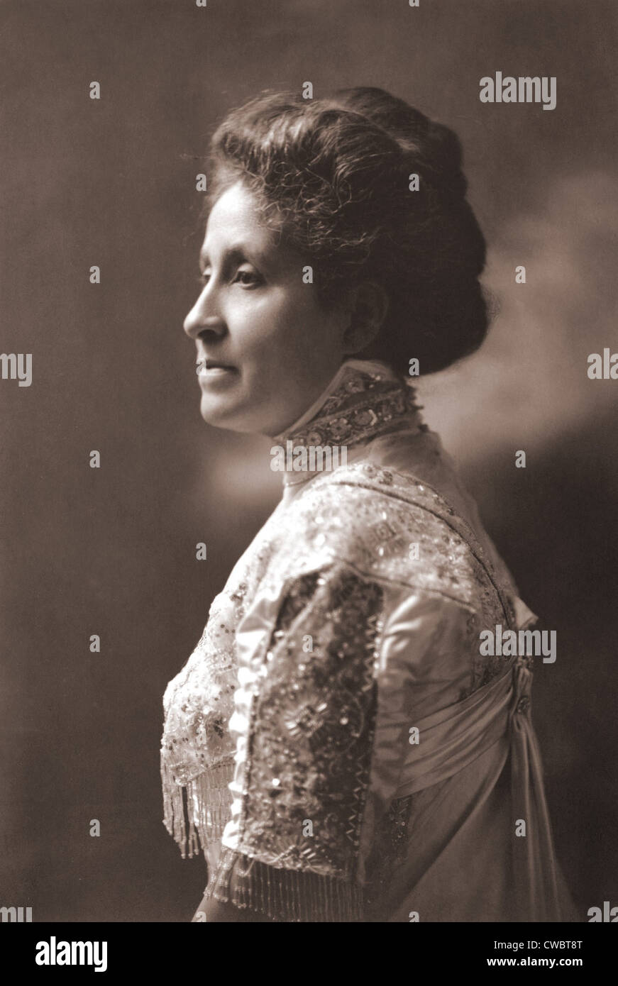 Mary Church Terrell (1863-July 1954) was an African American writer and socially prominent Washington D.C. civil Stock Photo