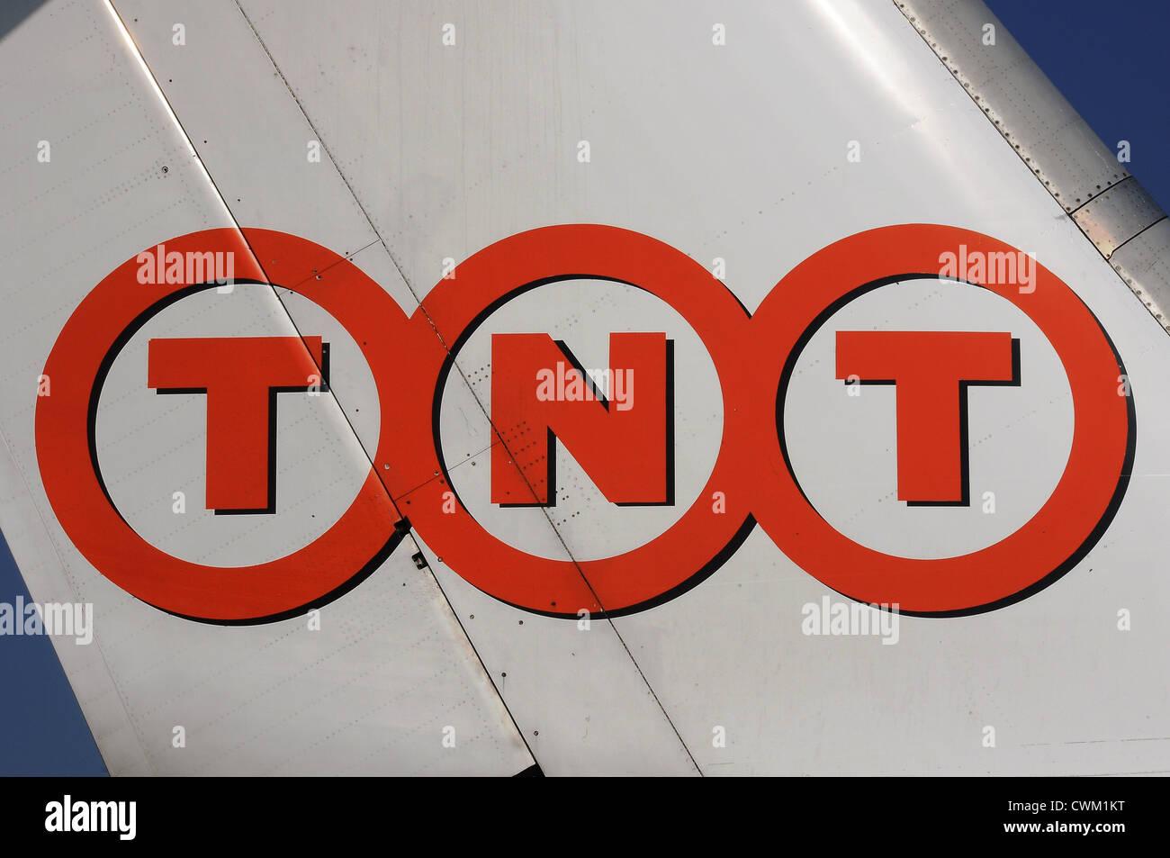 TNT Logo - Stock Image