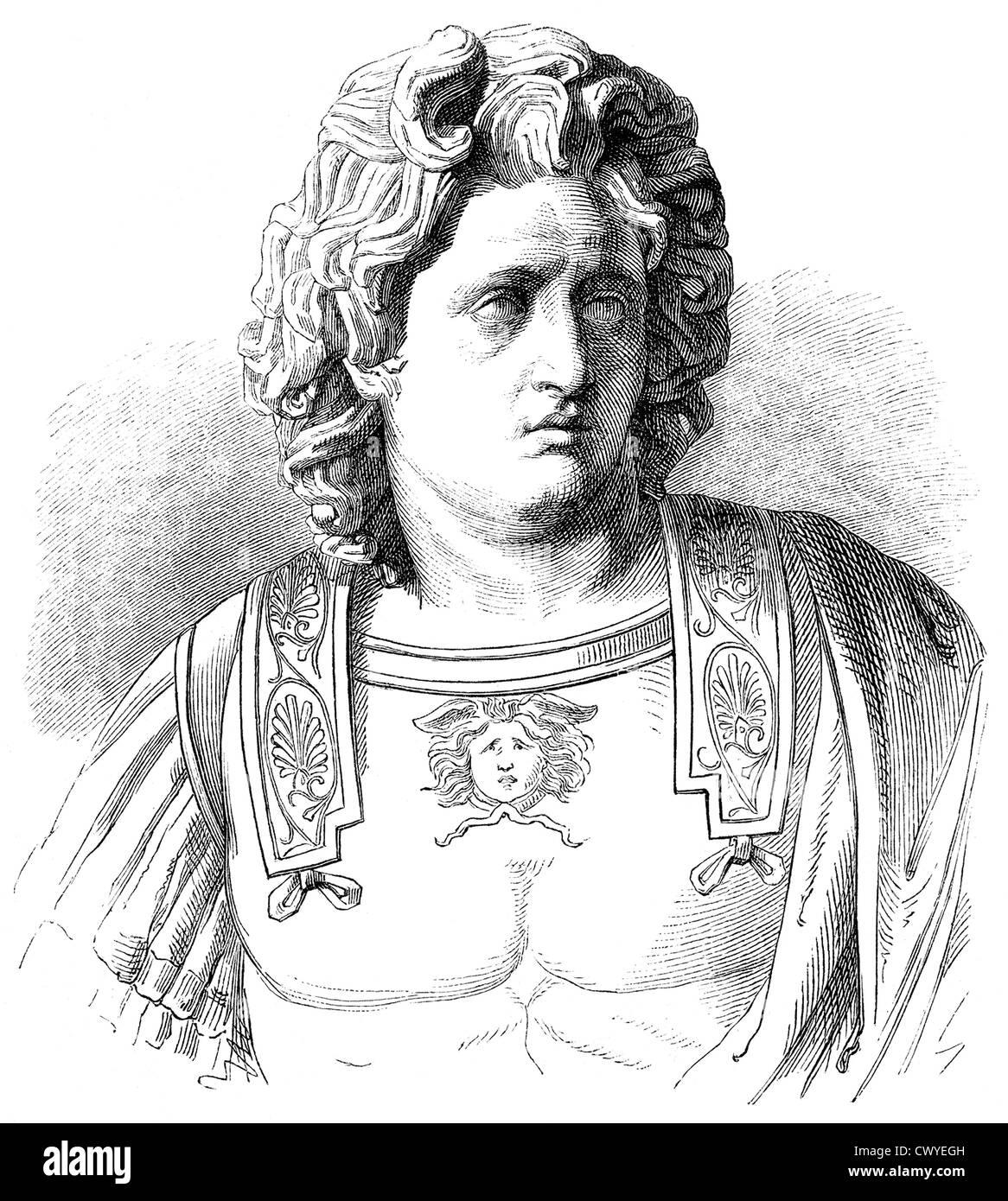 alexander the great or alexander iii of macedon 356 323 bc king of