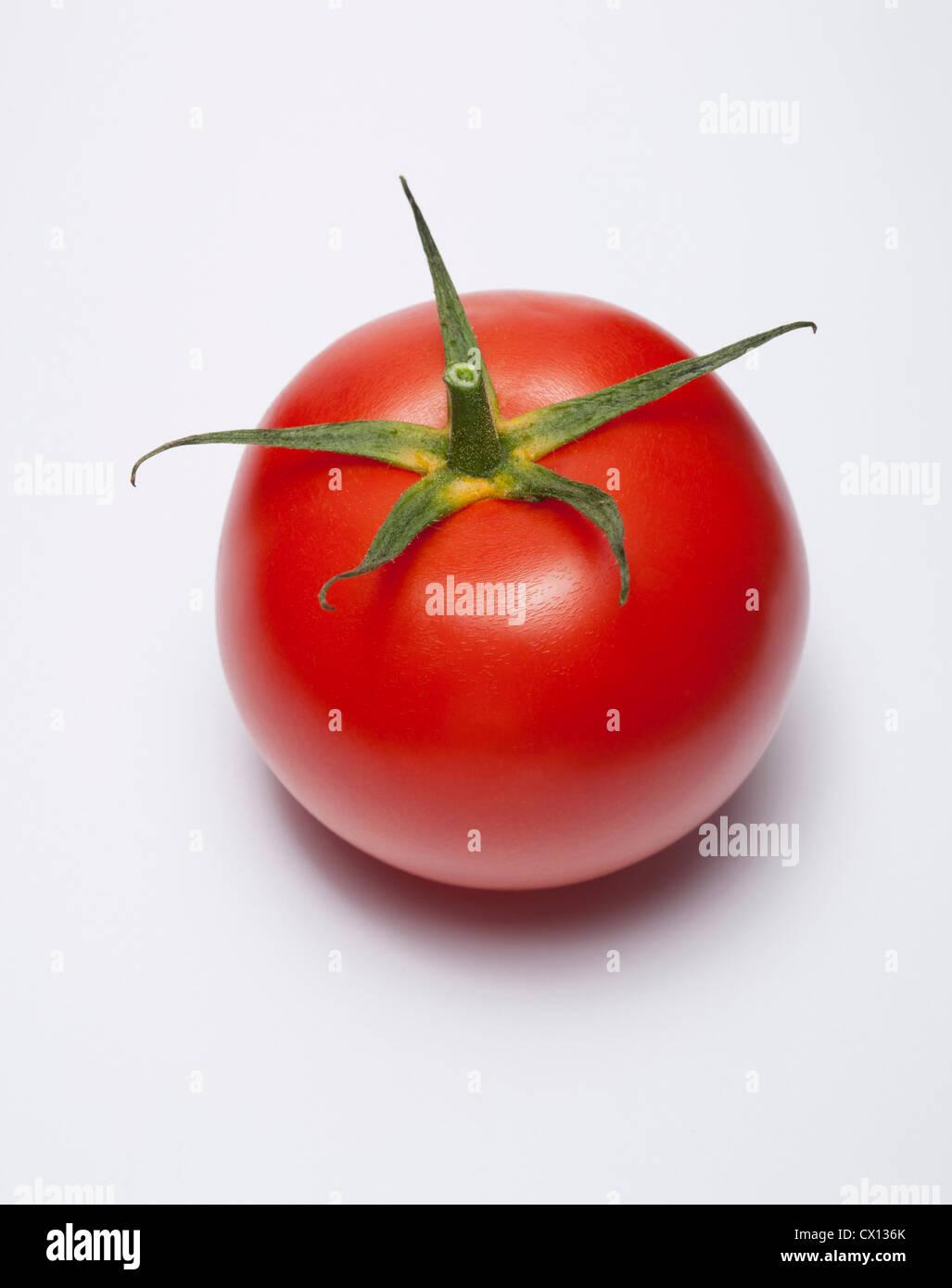 Red tomato - Stock Image
