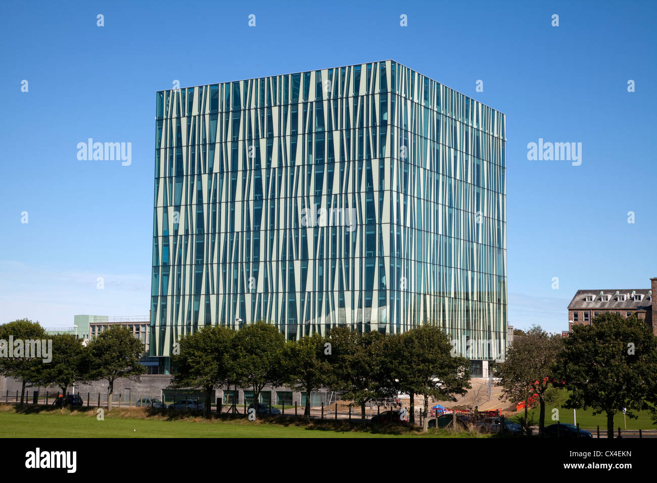 The Sir Duncan Rice Library at Aberdeen University Stock Photo
