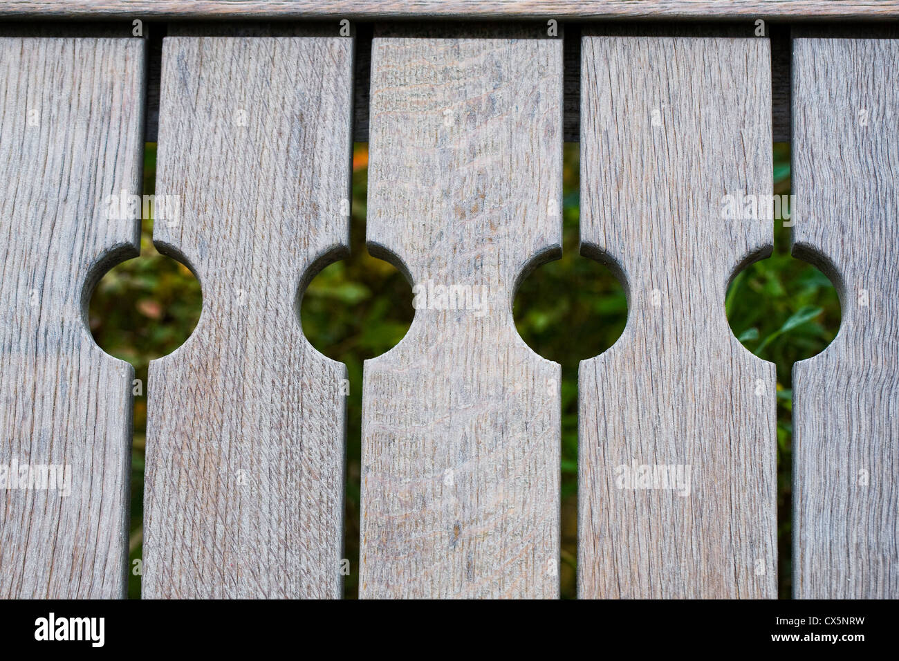 Wooden bench pattern. - Stock Image