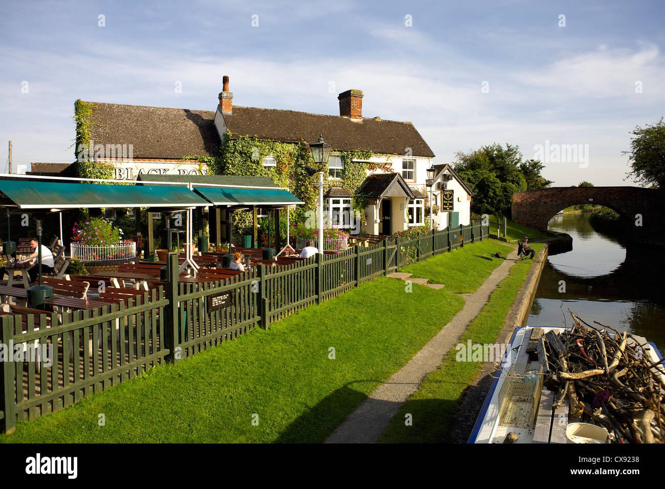 The Black Boy pub, Knowle, near Solihull, Warwickshire, England, UK, Britain, England, British, English, country, - Stock Image
