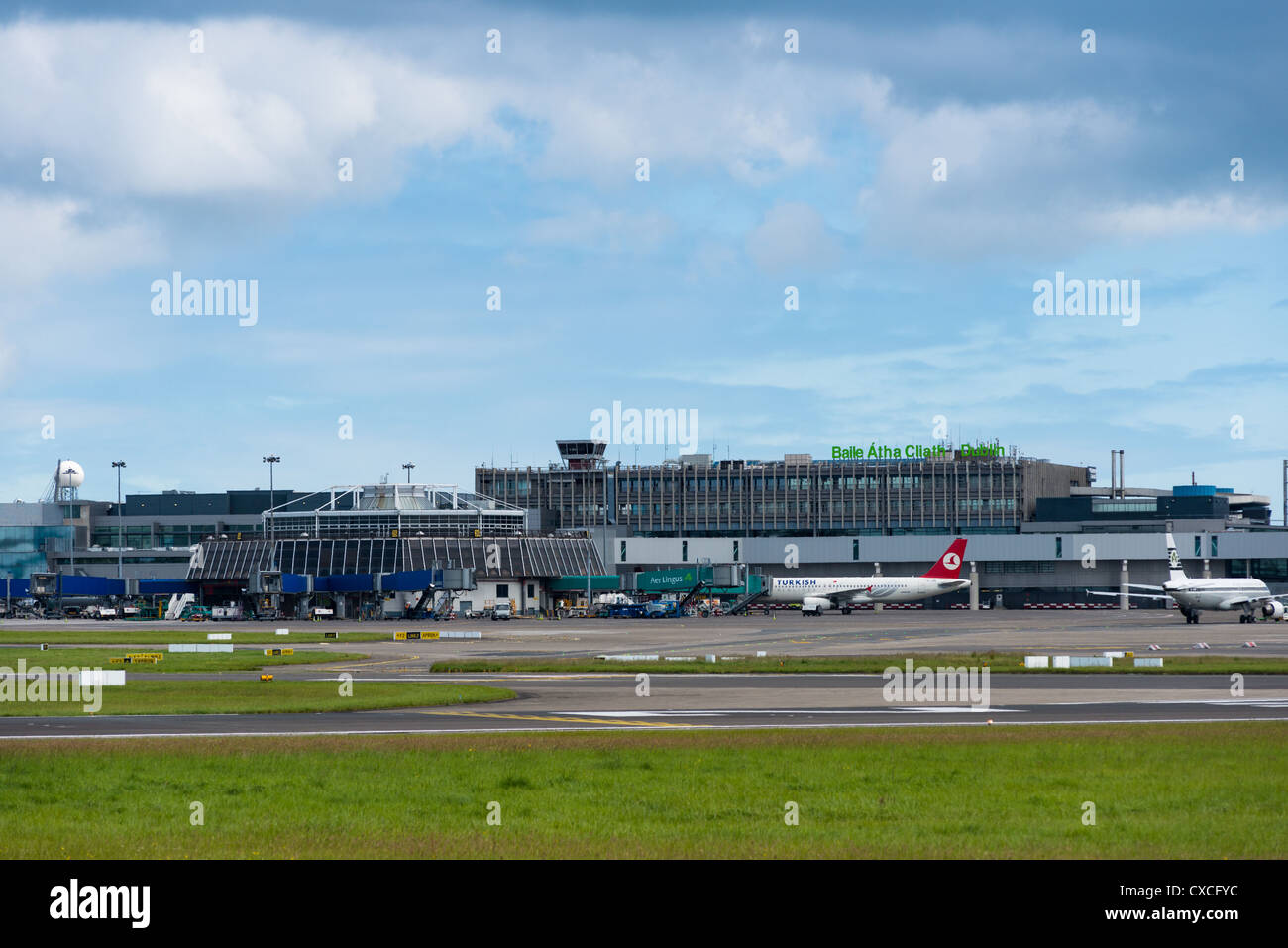 Terminal 1 (T1) at Dublin Airport. Republic of Ireland. Stock Photo