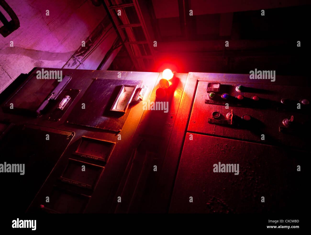 Red alert - Stock Image