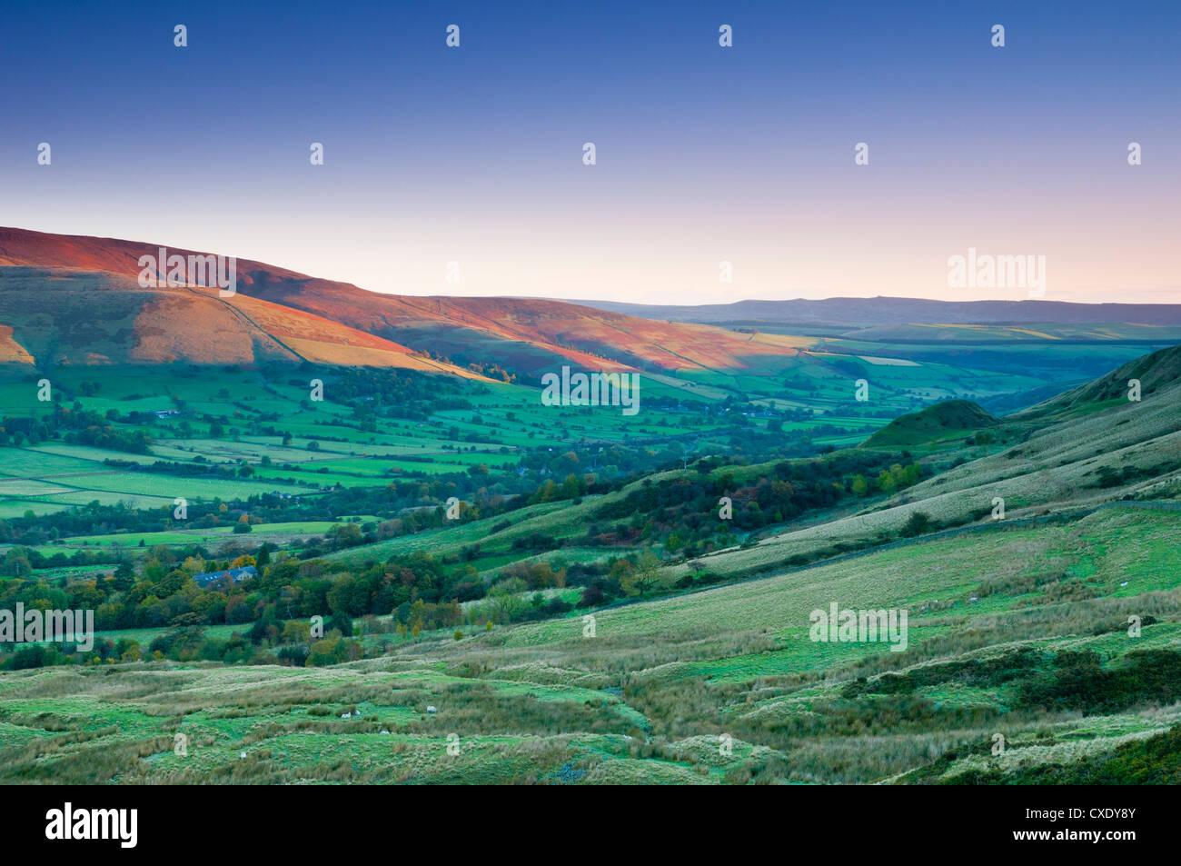 Vale of Edale, Peak District National Park, Derbyshire, England - Stock Image