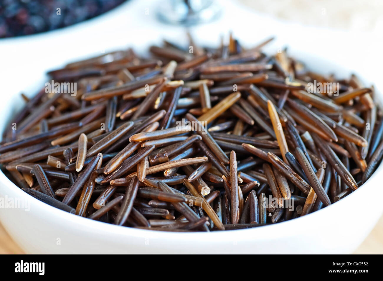 wild rice - Stock Image