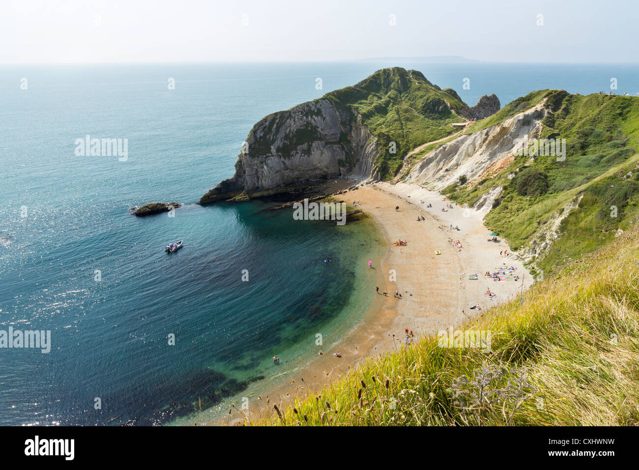 Man o War Bay near Durdle Door Dorset England UK Stock Photo