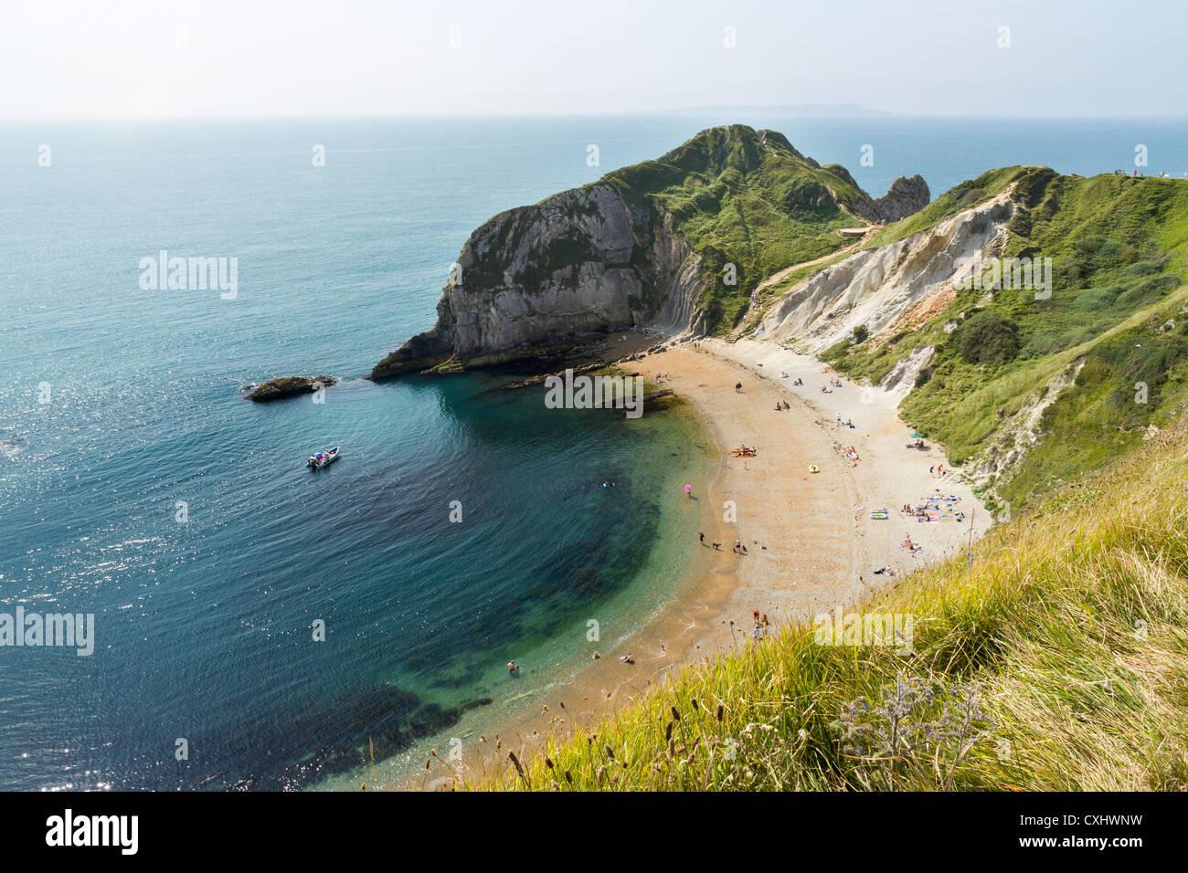 Man o War Bay near Durdle Door Dorset England UK Stock Photo