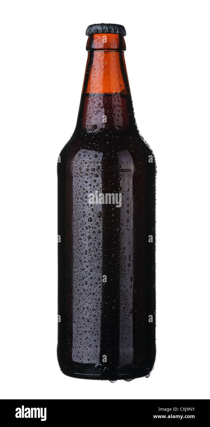 Bottle of beer - Stock Image