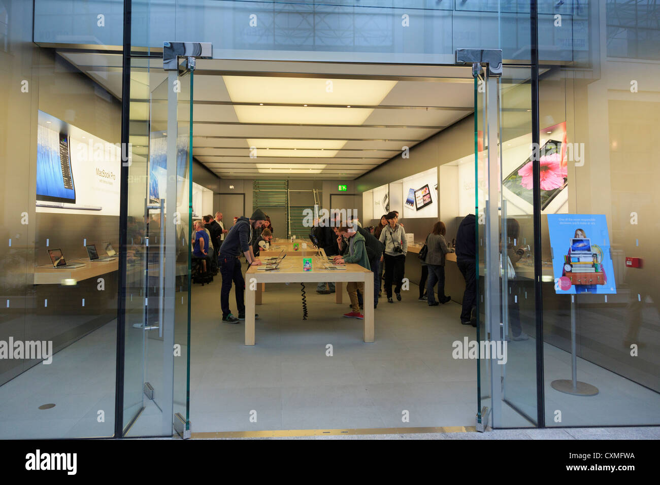 Customers inside the apple store in victoria square belfast co customers inside the apple store in victoria square belfast co antrim northern ireland uk planetlyrics Gallery