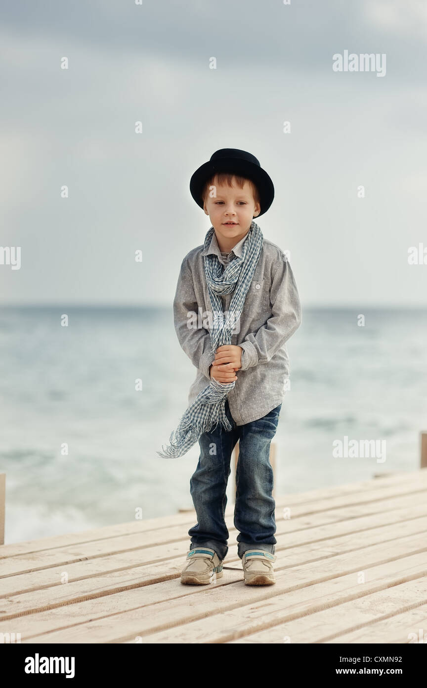 Lonely Single Boy Sitting On Stock Photos Amp Lonely Single