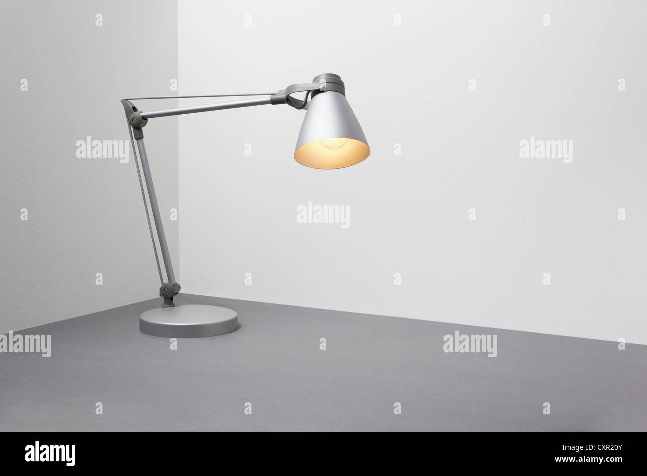 Desk lamp - Stock Image