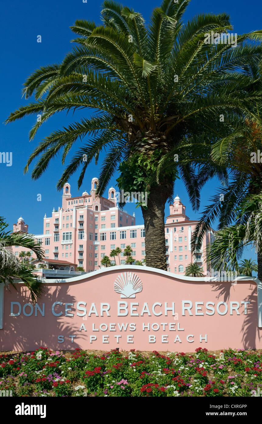 Don Cesar Beach Resort, St. Pete's Beach, Saint Petersburg