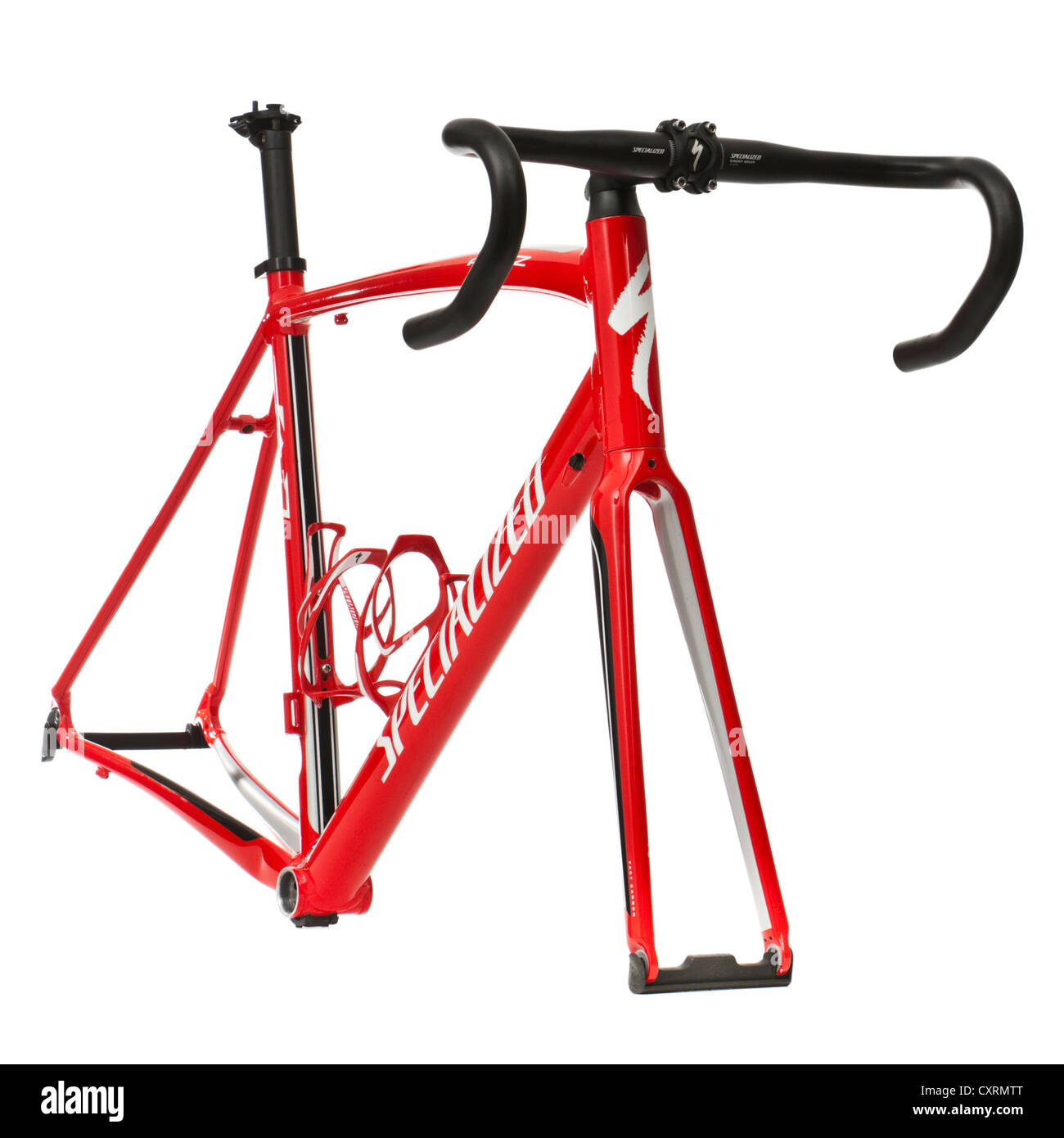 2011 Specialized \'Allez\' road racing bicycle frame Stock Photo ...