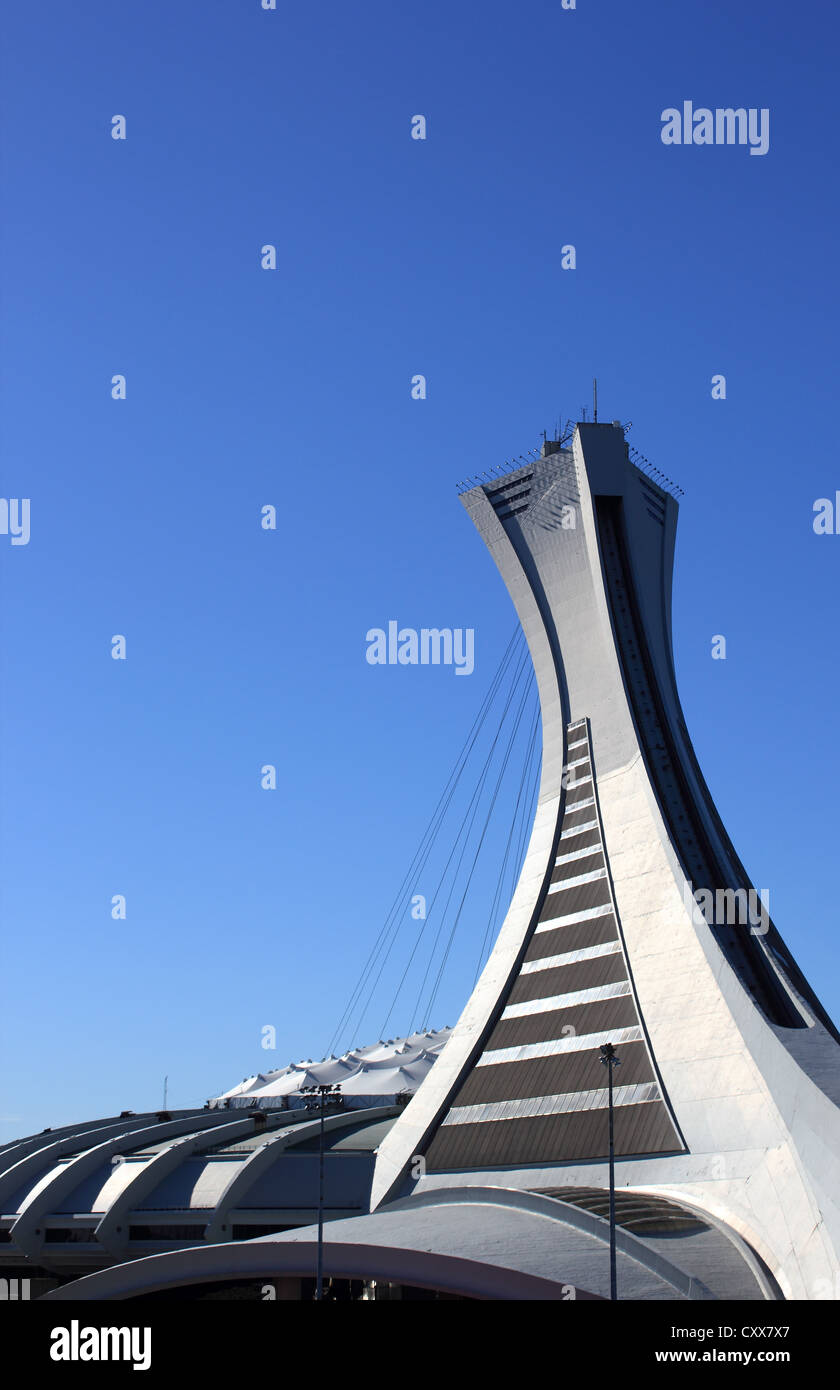 Montreal Olympic Stadium - Stock Image