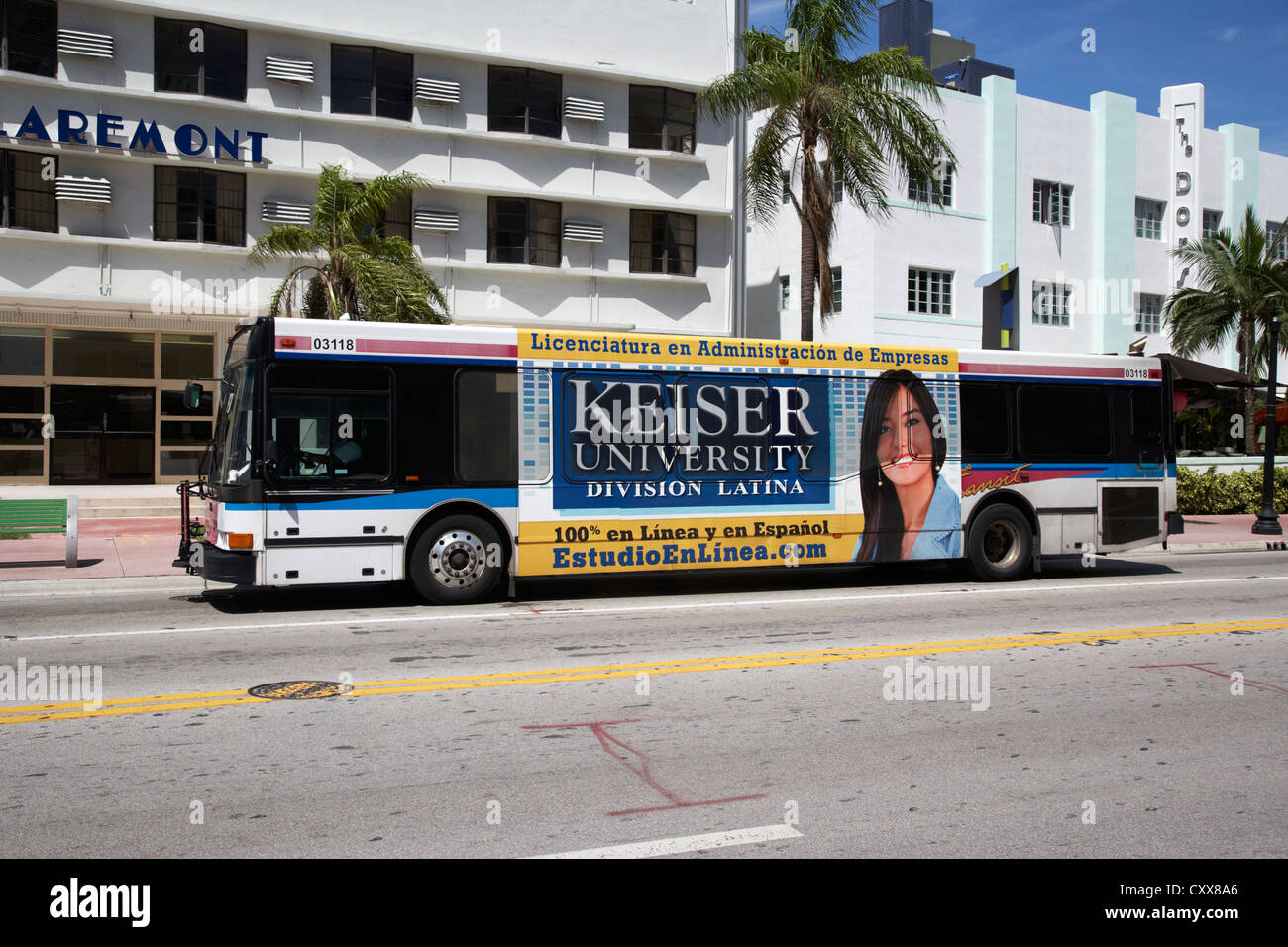 S And C Bus Miami South Beach