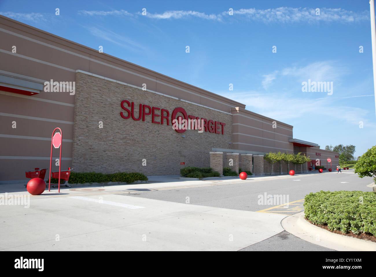 Super Target Hypermarket In Kissimmee Florida Usa