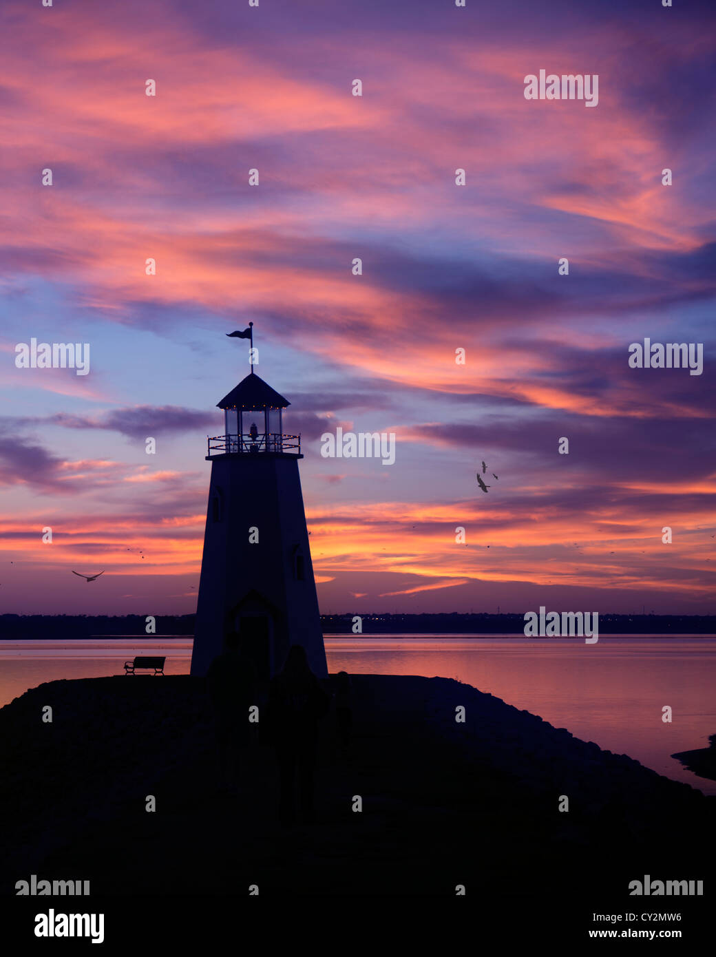 lake-hefner-lighthouse-in-oklahoma-city-